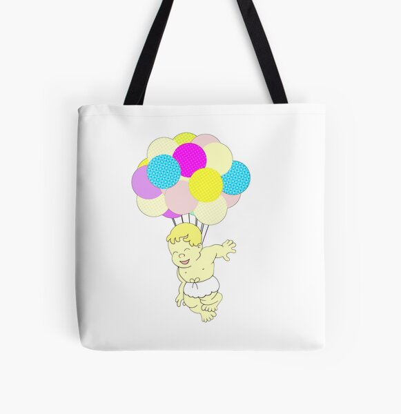 Happy Birthday All Over Print Tote Bag