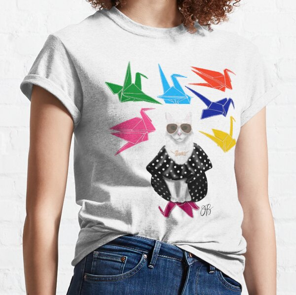 Boss Babe Origami Birds Classic T-Shirt