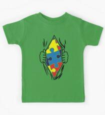 Autism Superhero Kids Tee