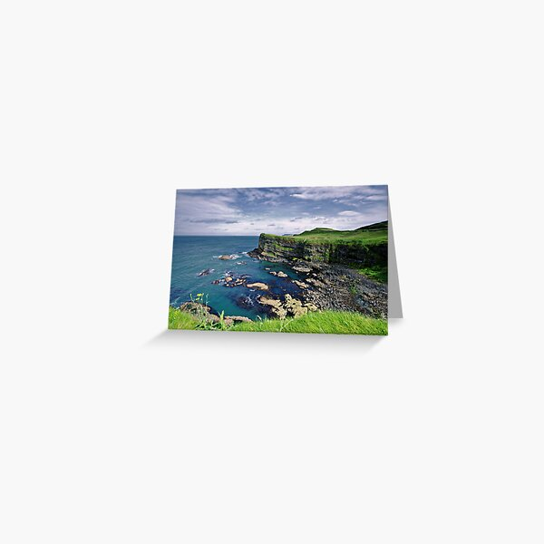 Antrim Coastline Greeting Card