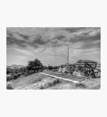 Fort Charlotte in Nassau, The Bahamas Photographic Print