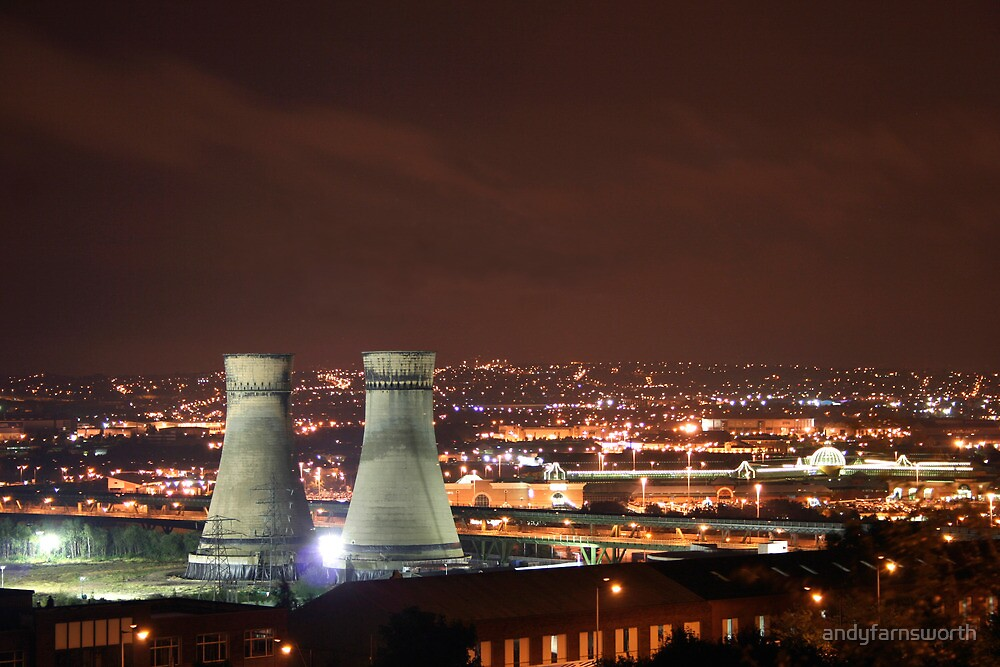 Sheffield Cooling Towers by andyfarnsworth