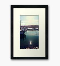 Wellington Bay (4) Docks Framed Print