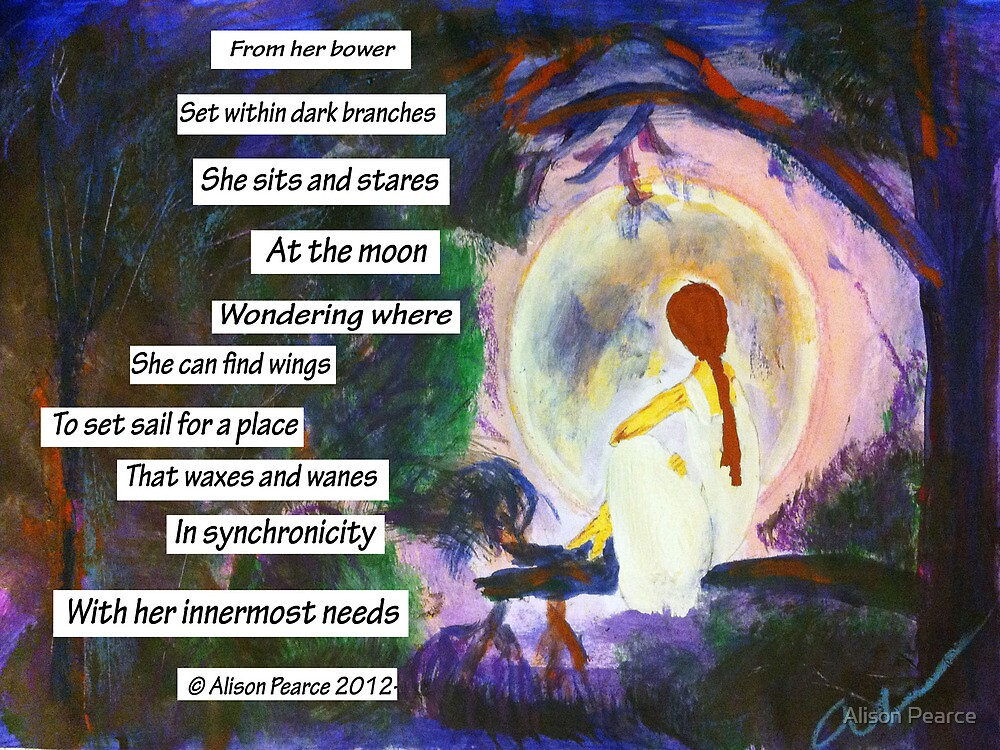 The Girl in the Moon by Alison Pearce