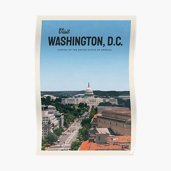 Visit Washington, D.C. Poster