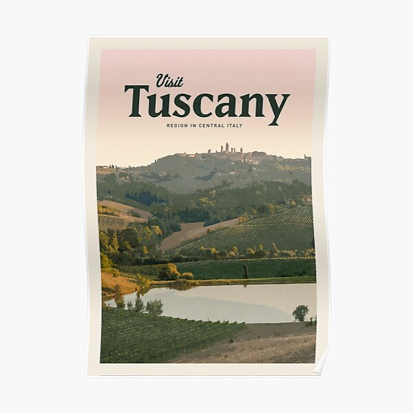 Visit Tuscany  Poster
