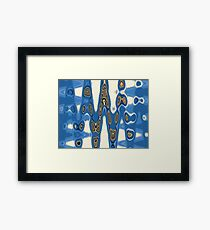 Abstract Reflections Series 8-1 Framed Print