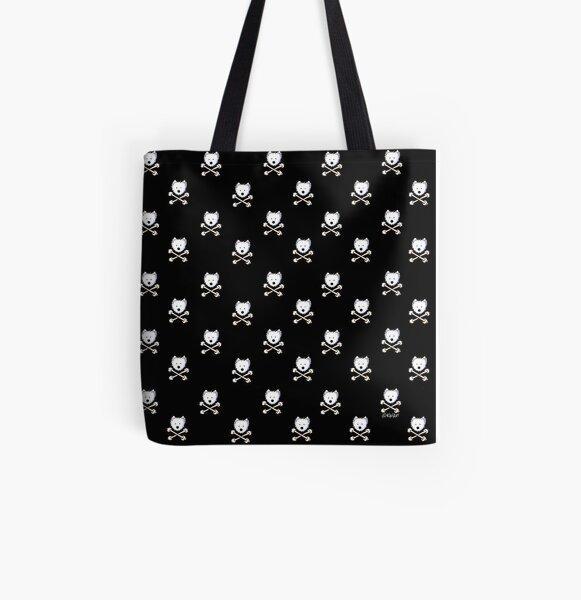 Torrid Crossbones Westies All Over Print Tote Bag