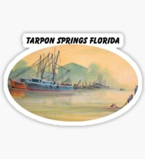 Tarpon Springs Florida - Sponge Docks Sticker