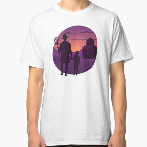 SUNSET FARMER Classic T-Shirt