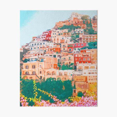 Positano, beauty of Italy Art Board Print