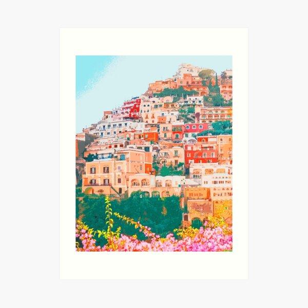Positano, beauty of Italy Art Print