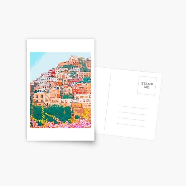 Positano, beauty of Italy Postcard