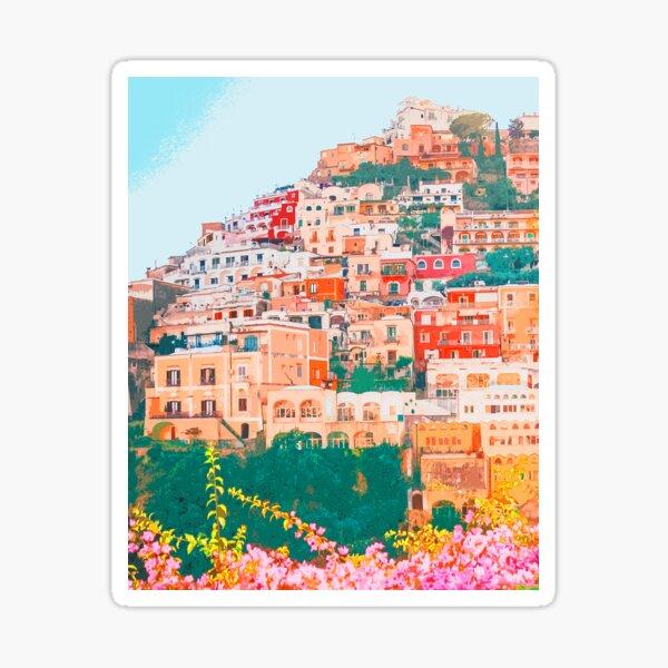 Positano, beauty of Italy Sticker