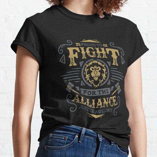 Lutte pour l'Alliance - Rpg de jeu - Art vintage T-shirt classique