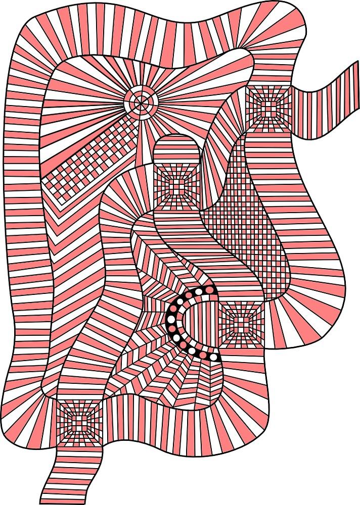 A Weird Pink Face by StevenTatlock
