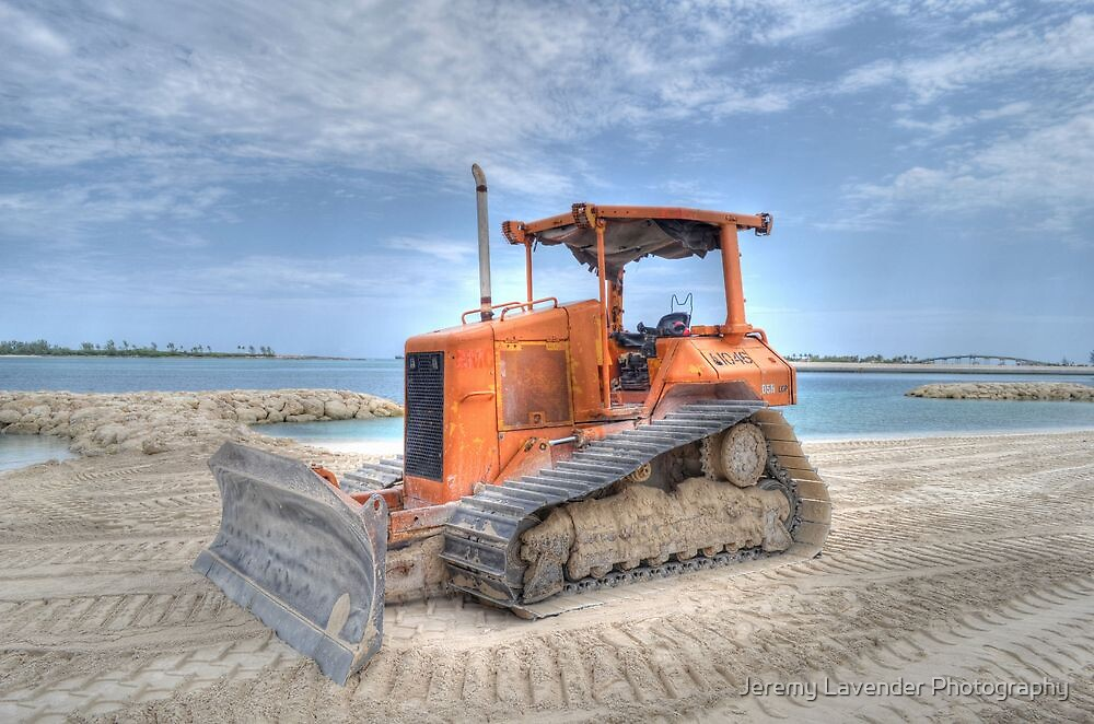 Work on the beach - Nassau, The bahamas by Jeremy Lavender Photography