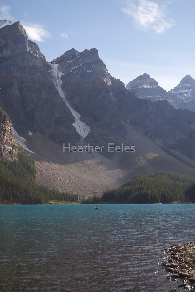 Another Picture at Moraine Lake by Heather Eeles