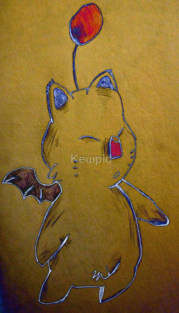 The Moogle by Kewpid
