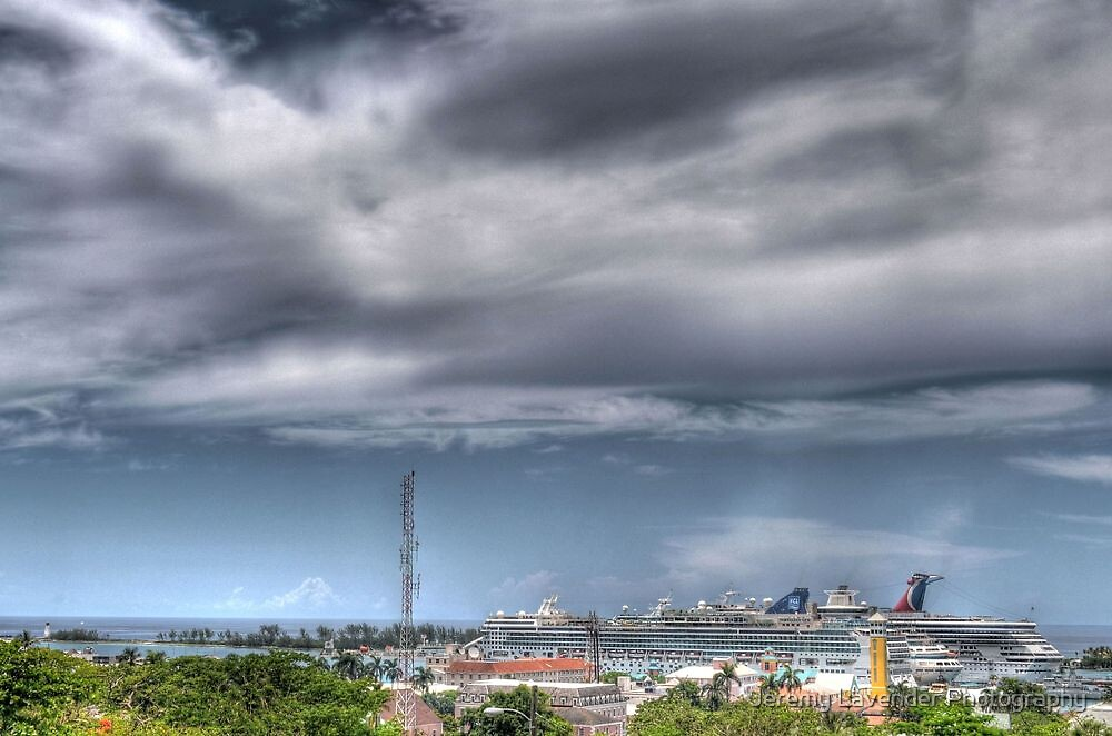 Nassau Harbour from Fort Fincastle - The Bahamas by Jeremy Lavender Photography