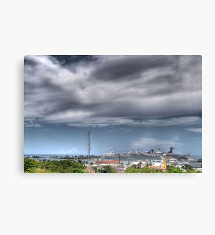 Nassau Harbour from Fort Fincastle - The Bahamas Canvas Print