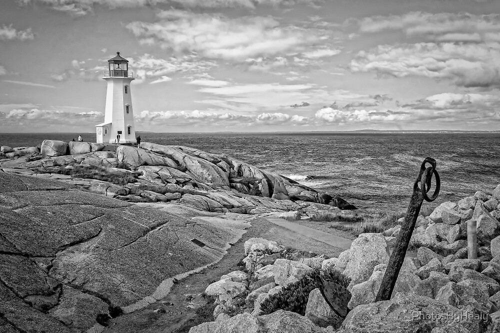 Peggy's Cove Light II by PhotosByHealy