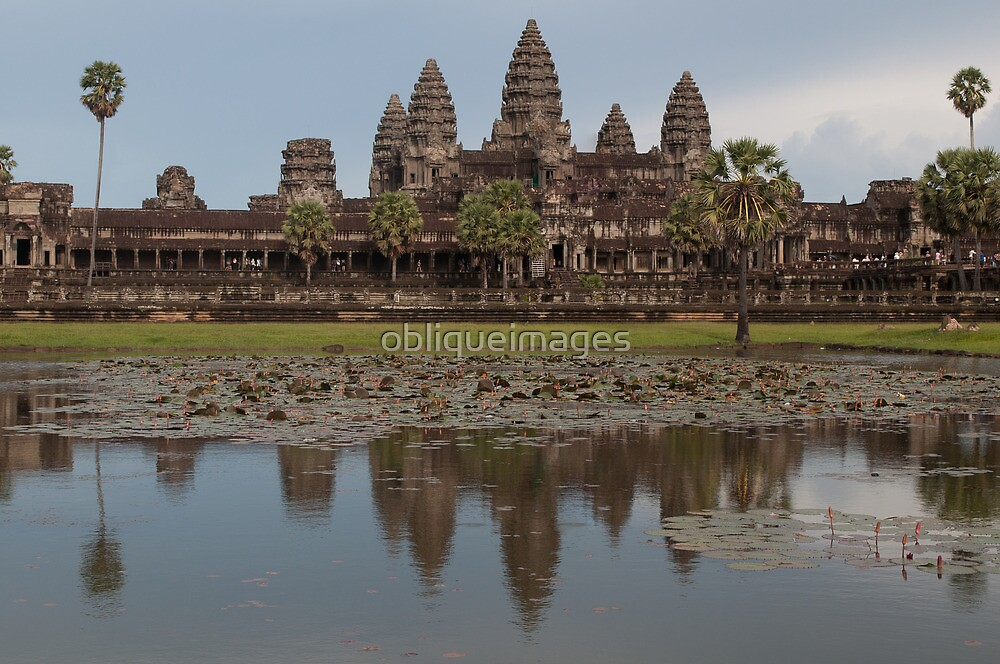 Angkor Wat, Cambodia by obliqueimages