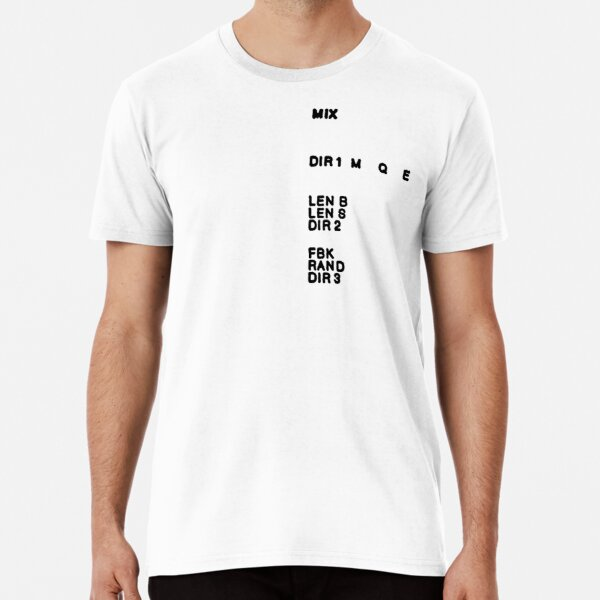 Montreal Assembly Count to 5 Text Premium T-Shirt