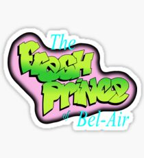 The Fresh Prince Of Bel Air Sticker