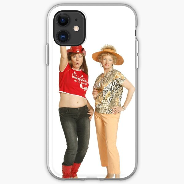Kath and Kim: Drinks iPhone Soft Case