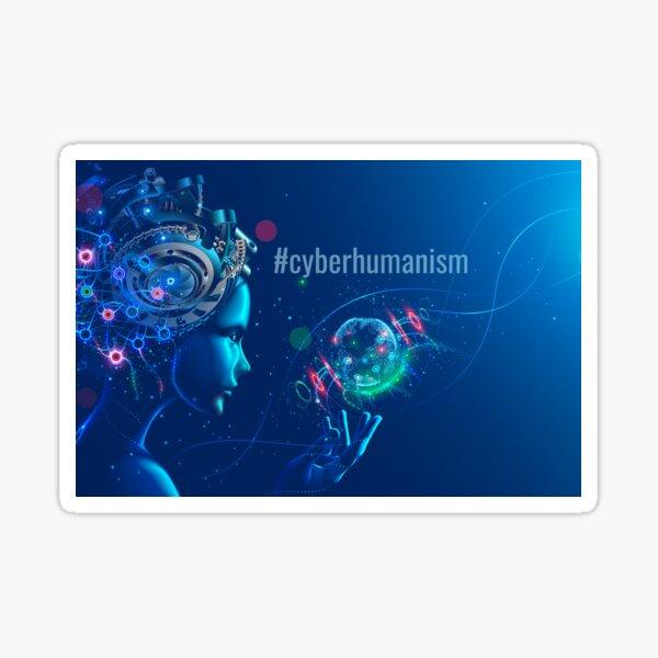 #cyberhumanism Sticker