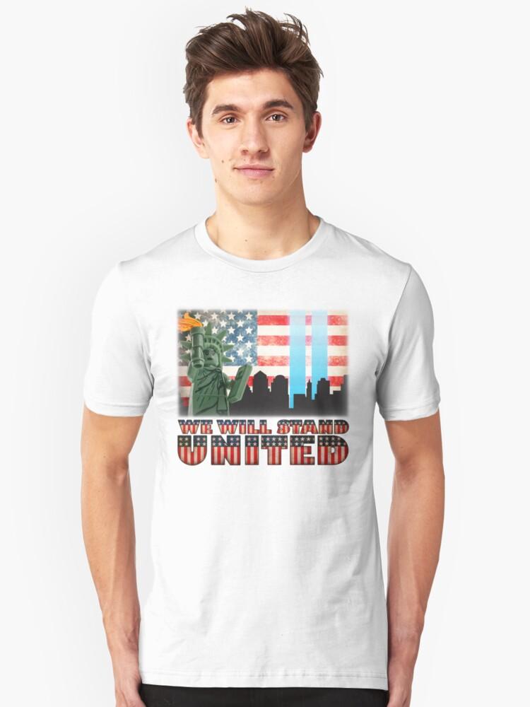 911 Tribute Unisex T-Shirt Front