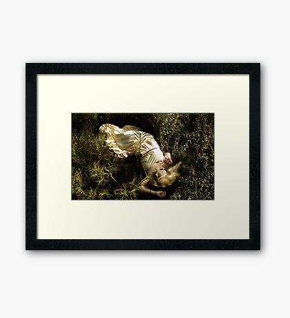 never wake again Framed Print