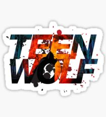 Teen Wolf Howling Wolf Sticker