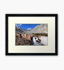 Above Highwood Pass III Framed Print