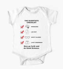 The Scientists Checklist One Piece - Short Sleeve