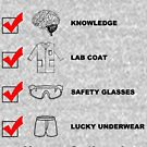 The Scientists Checklist by GUS3141592
