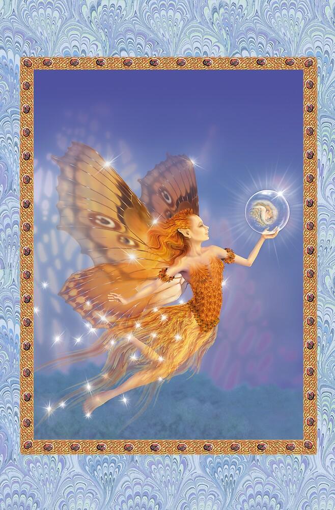 Fairy Dreams greeting card 2 by Carol McLean-Carr