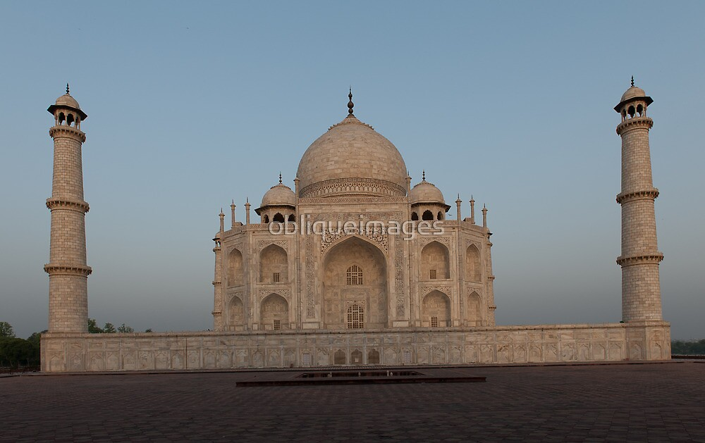 Morning at the Taj by obliqueimages