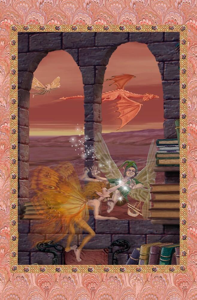 Fairy Dreams greeting card 10 by Carol McLean-Carr