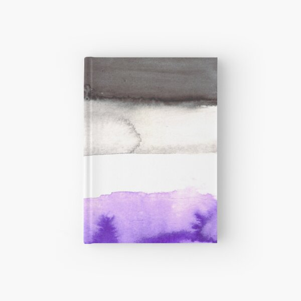 Asexual pride flag Hardcover Journal