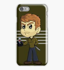 Dexter's slide show iPhone Case/Skin