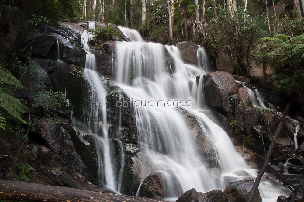 Waterfall by obliqueimages