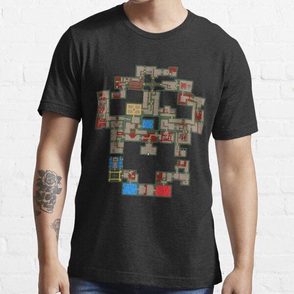 8BIT Skull Map Essential T-Shirt