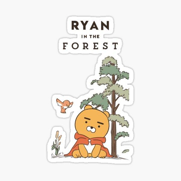 Ryan dans la forêt Sticker