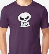 Naughty Halloween Skull Unisex T-Shirt