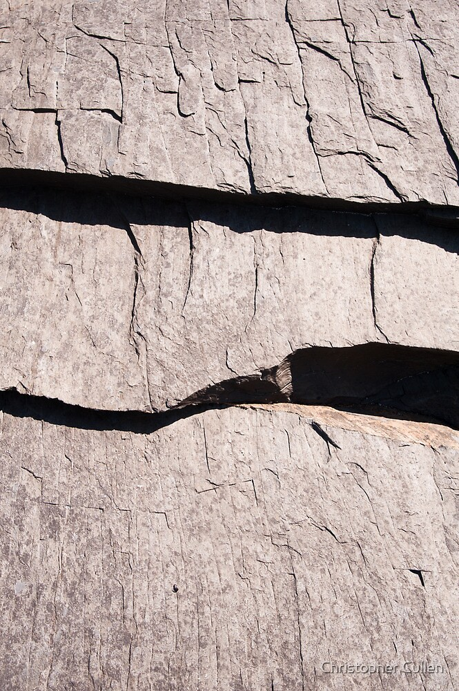 Slate abstract by Christopher Cullen