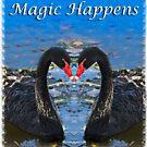 Magic Happens tee Shirt by JuliaKHarwood