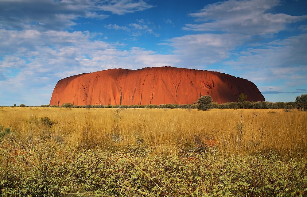 Ayers Rock by kcy011