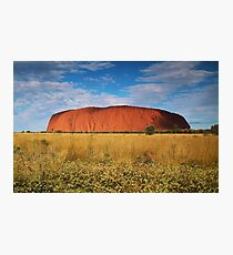 Ayers Rock Photographic Print